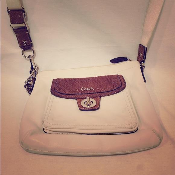 Coach Handbags - Coach White Handbag